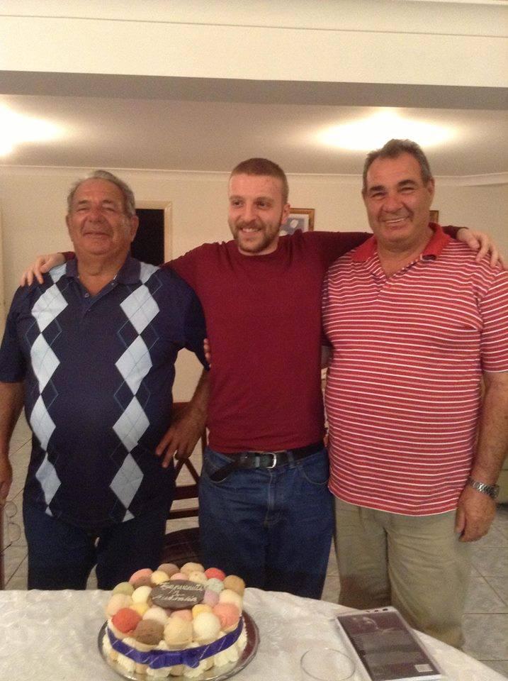 In ordine, Salvatore, me, Paolo.